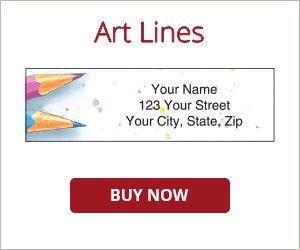 Art Lines Address Labels