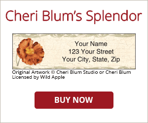 Cheri Blum's Splendor Address Labels
