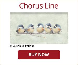 Chorus Line Side Tear Checkbook Cover