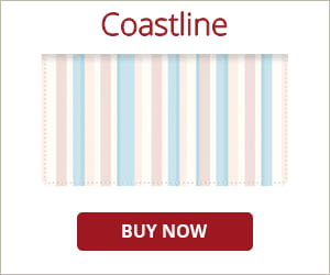 Coastline Checkbook Cover