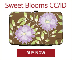 Sweet Blooms Credit Card/ID Holder