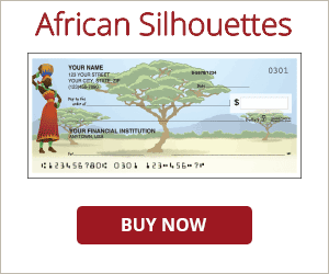 African Silhouettes Checks